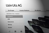 Uzin Utz Multimarkenportal - Vielfalt mit System